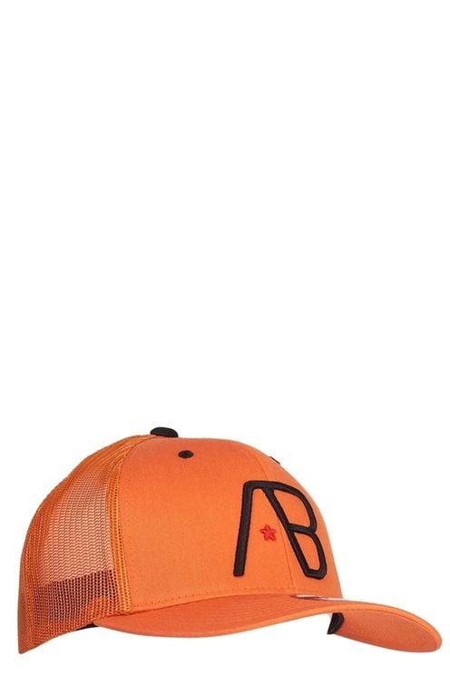 Retro Trucker Orange