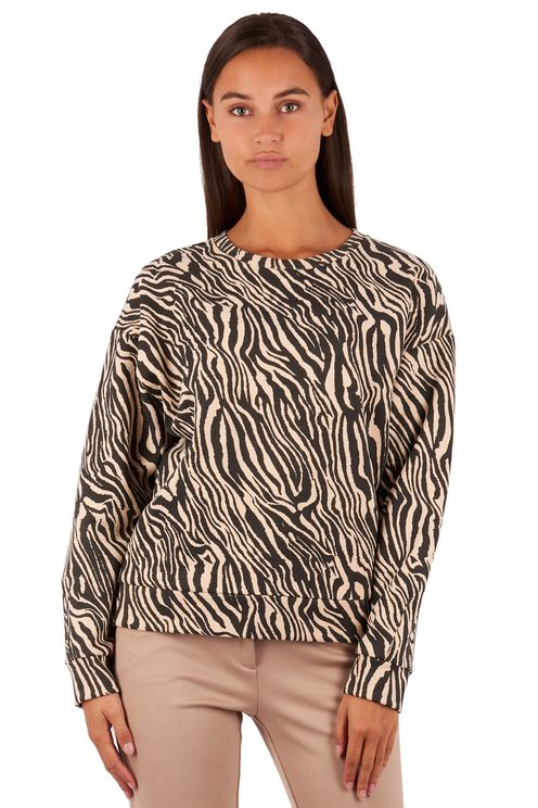 sweater zebra ecru