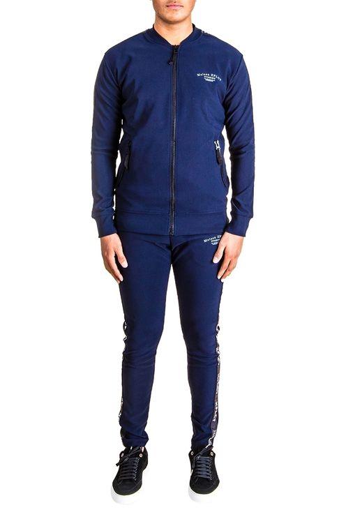 Maison Suit Navy Blue