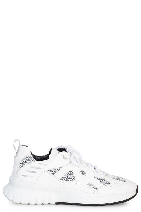 Sneaker Jupiter Leather Nylon White
