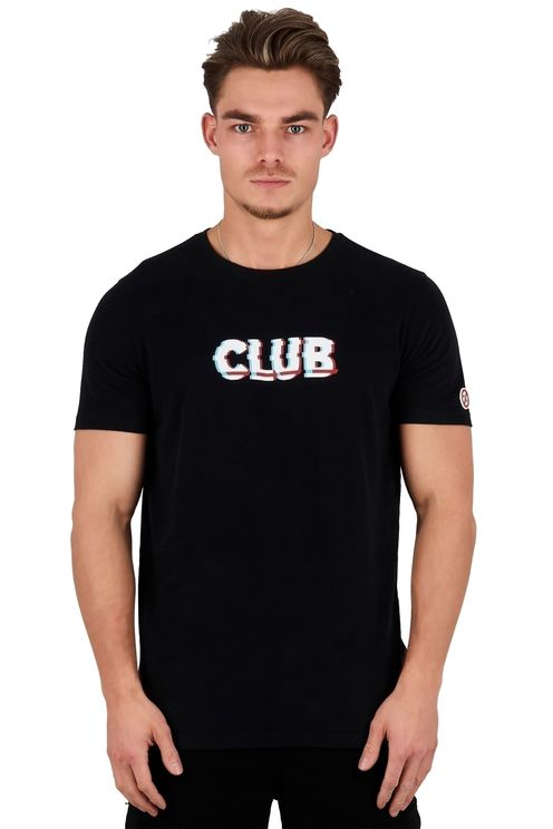 Front & back glitch T-shirt