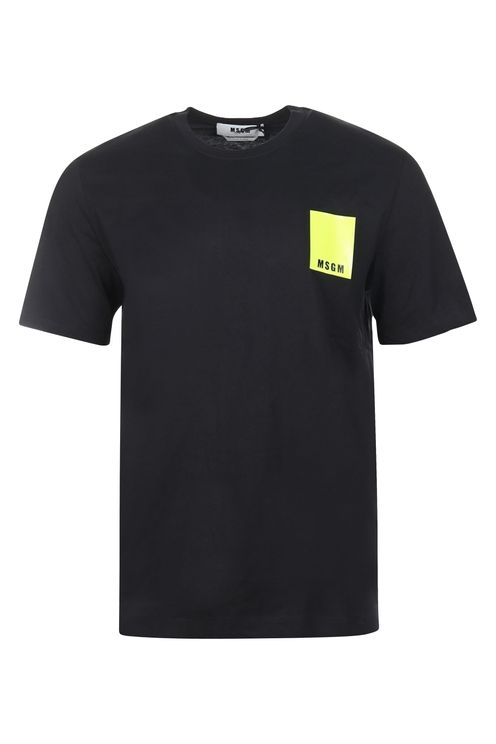 T-shirt Neon Logo Black