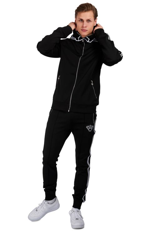 Incognito Tracksuit Zwart / Wit