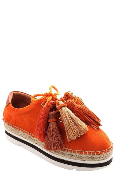 Veterschoen Oranje