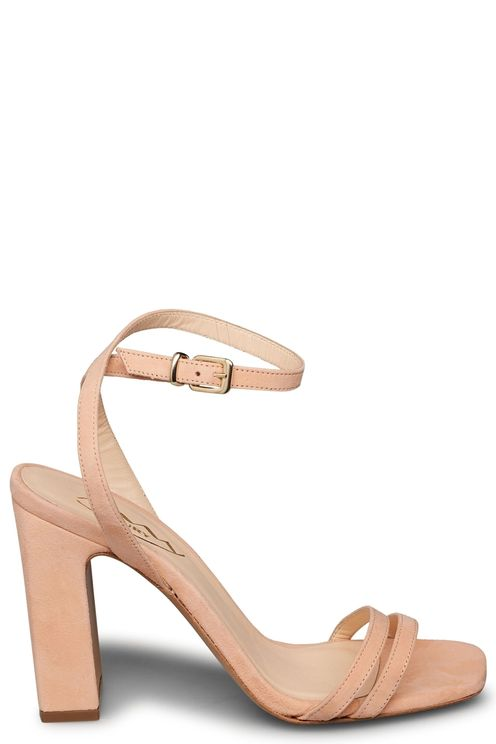 High heeled sandal