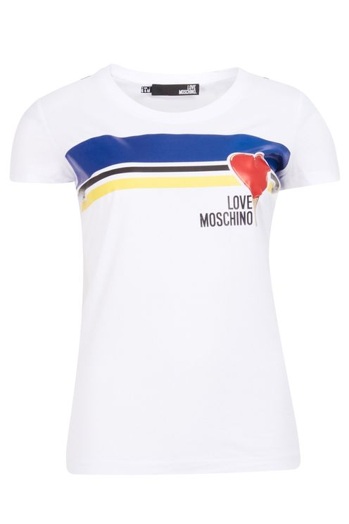 Righe Cuore T-shirt