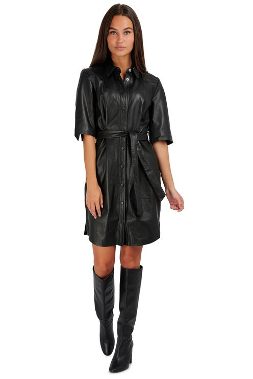 Baroon Leather Dress