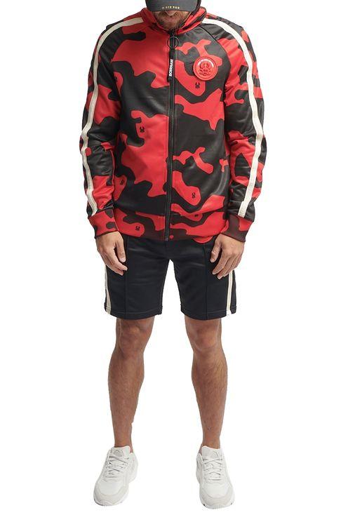 Haku2 Track Jacket Camo Red