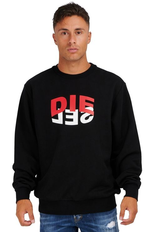 Sweatshirt Girk Black