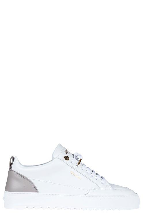 Tia Leather White / Grey