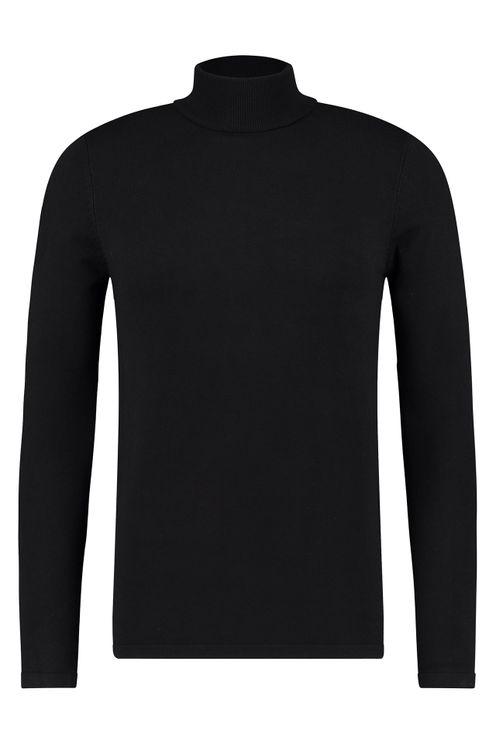 Essential Knit Turtleneck - Black