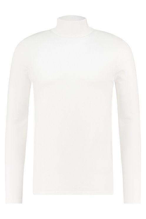 Essential Knit Turtleneck - Off White
