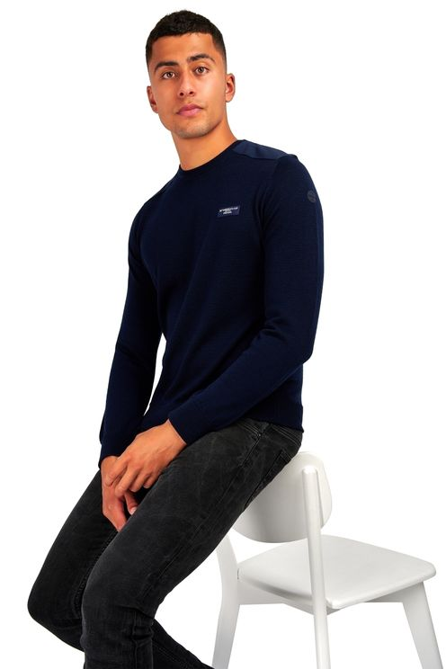 Knitwear Howick Round Neck Navy