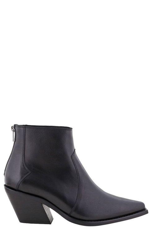 Enkellaarsjes Tania Boots A Zwart