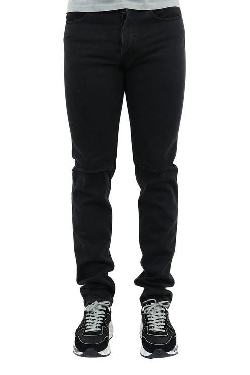 Spijkerbroek Zwart