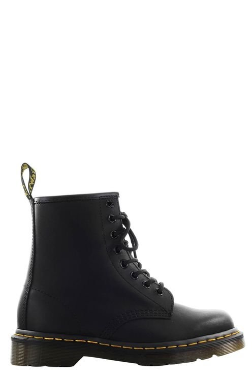 1460 Greasy Black Combat Boot Black
