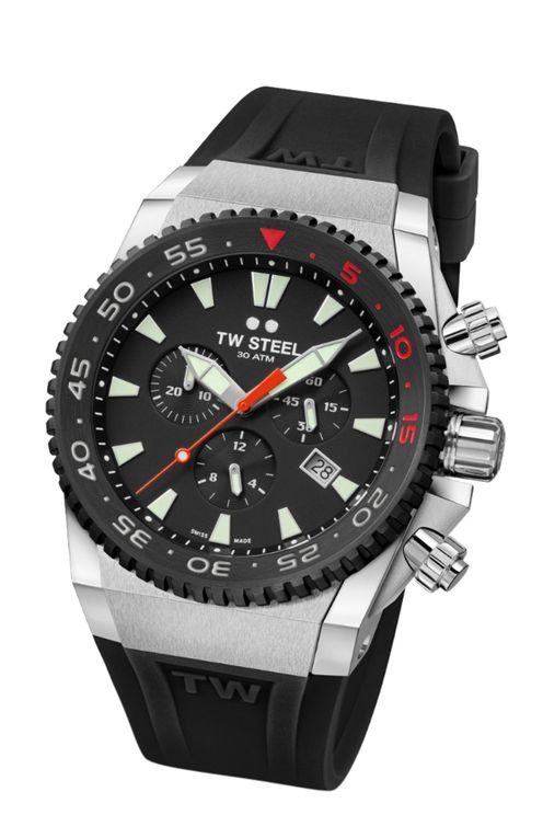 ACE401 Diver Swiss Chronograaf Limited Edition horloge 44mm