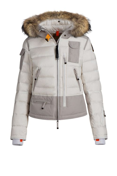 Parajumpers Skimaster Women Jacket Off White Silver Grey