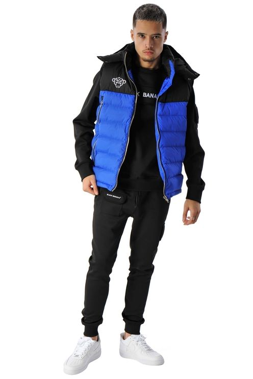 Block Bodywarmer Blue