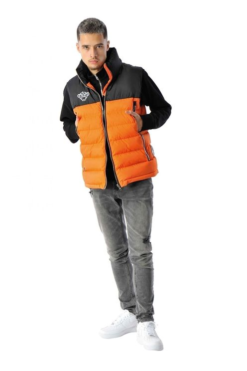 Block Bodywarmer Orange