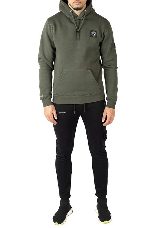 Commodore Hoodie Army Green