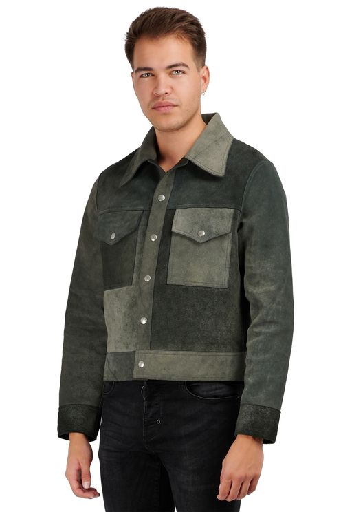 Reversible leatherjacket