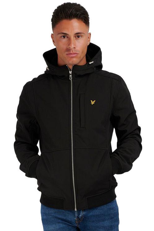 Softshell jacket, jet black