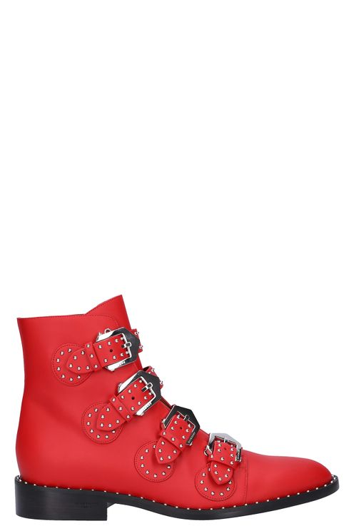 Ankle Boots Red Be Inamoto