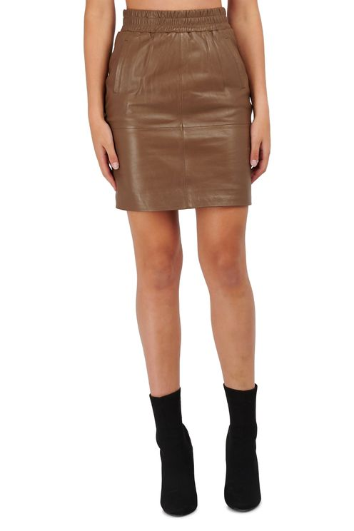 Dyna leather skirt