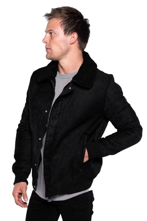 Shearling Jacket Mads Black