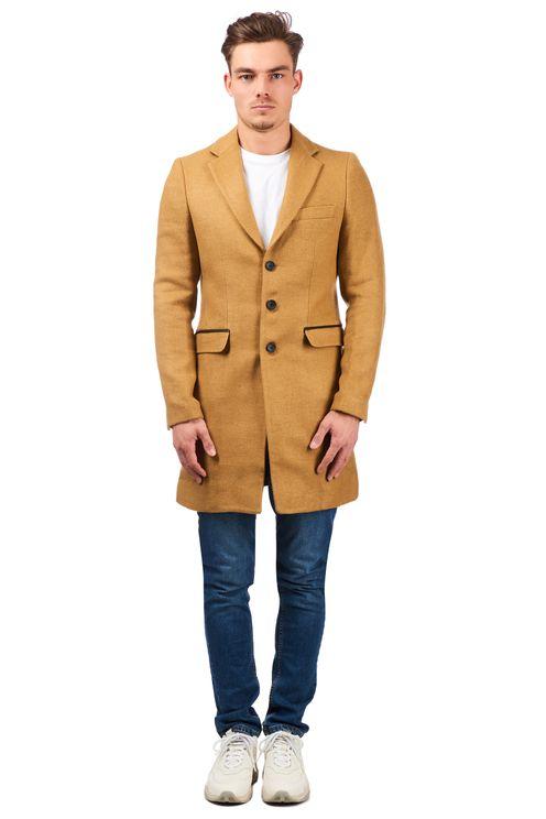 Carston Coat Beige
