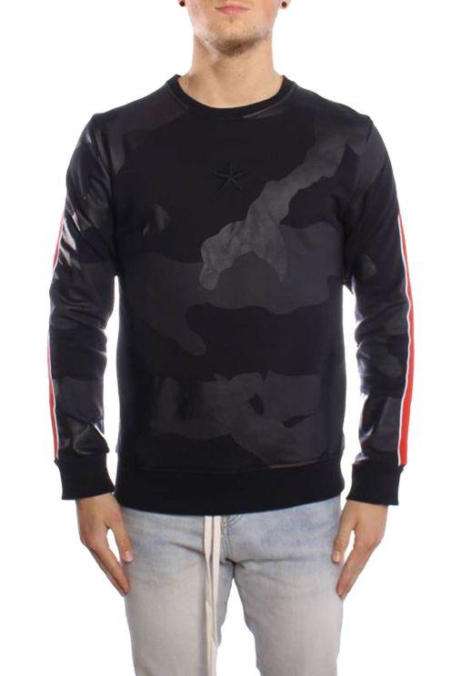 Sweater Camo Line Black