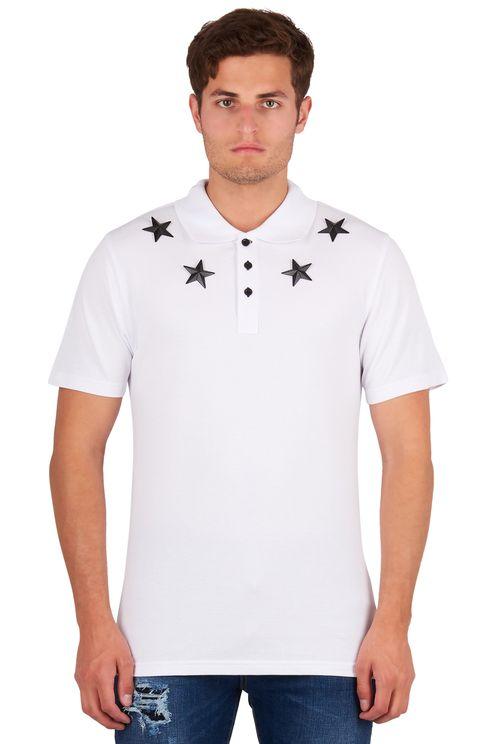 Polo Metal Stars White