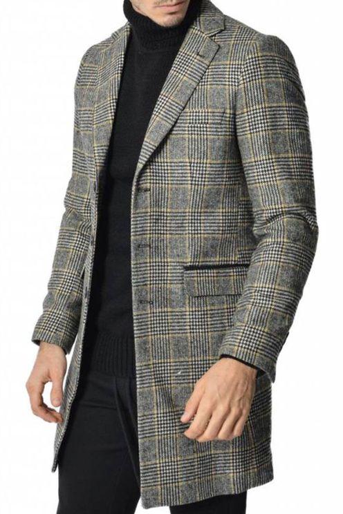 Carston Coat Checkered