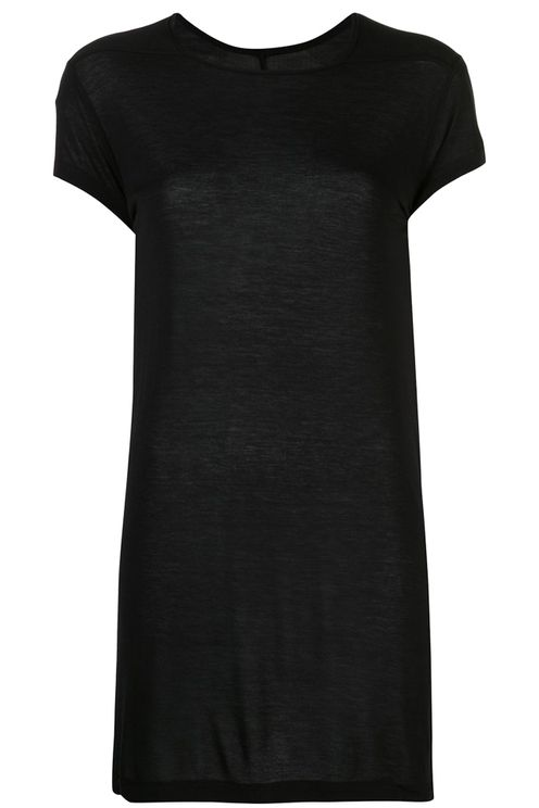 Sheer Longline Level Tee T-shirt