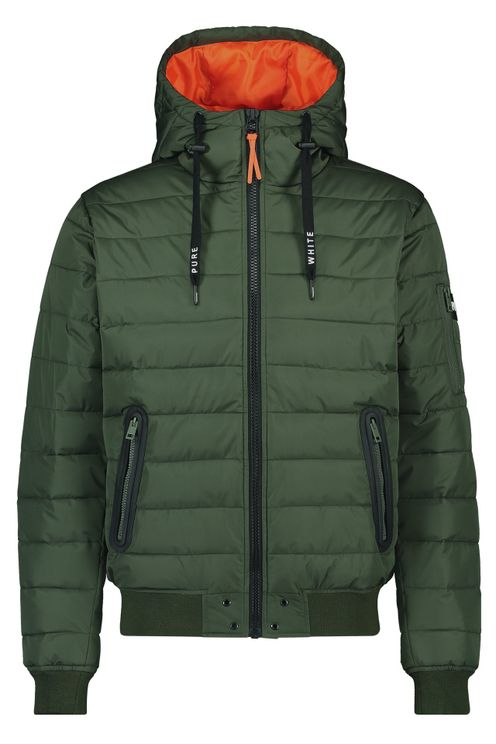 Padded Jacket - Army Green