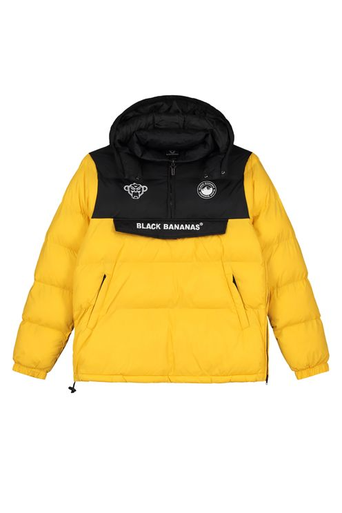 Anorak Block Jacket Yellow