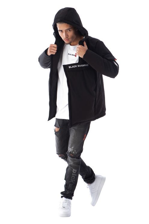 Anorak Technical Jacket Black