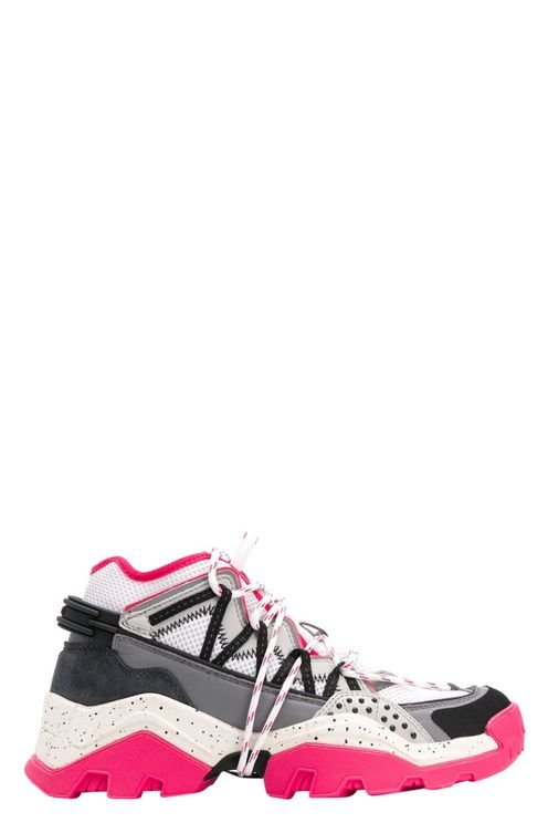 Women's Multicolor Leather Sneakers