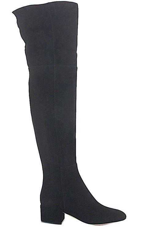 Women Boots Calfskin Suede Black - Joplin