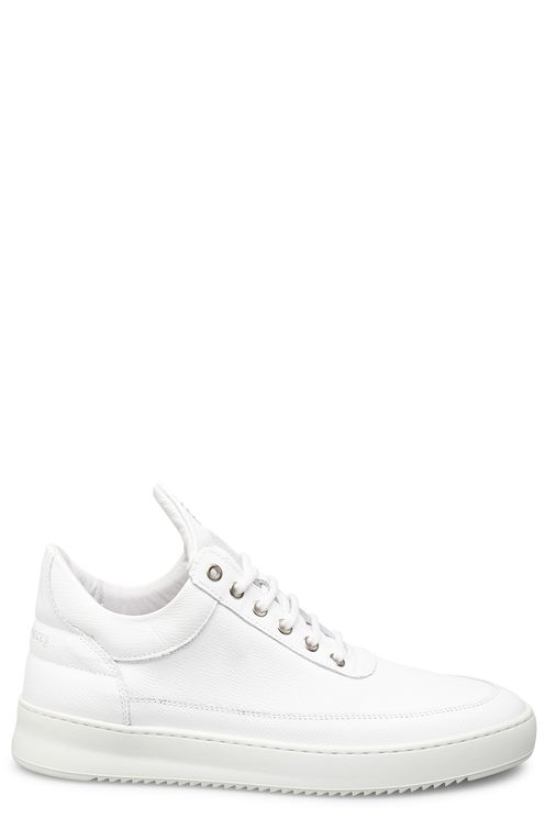 Low top Ripple Crumbs All White