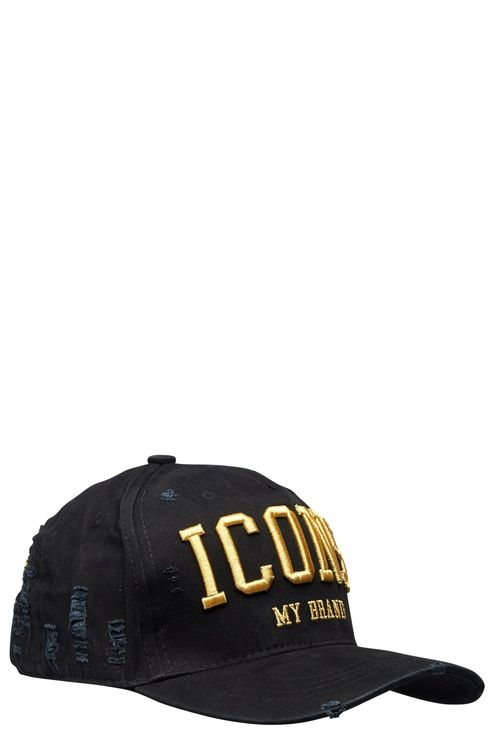 Icons Black Gold Cap