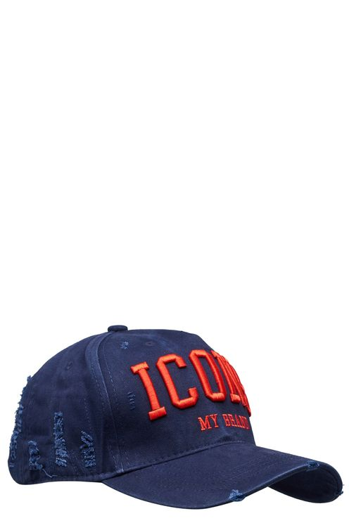 Icons Navy Red Cap