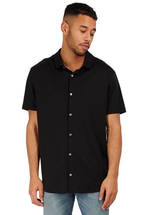 zwarte polo shirt