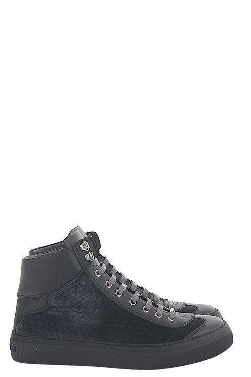 Men High-Top Sneakers ARGYLE Velvet - Cop