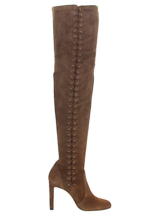 Women Boots MARIE Suede Brown - Freeway