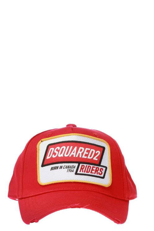 Red baseball cap from Dsquared2