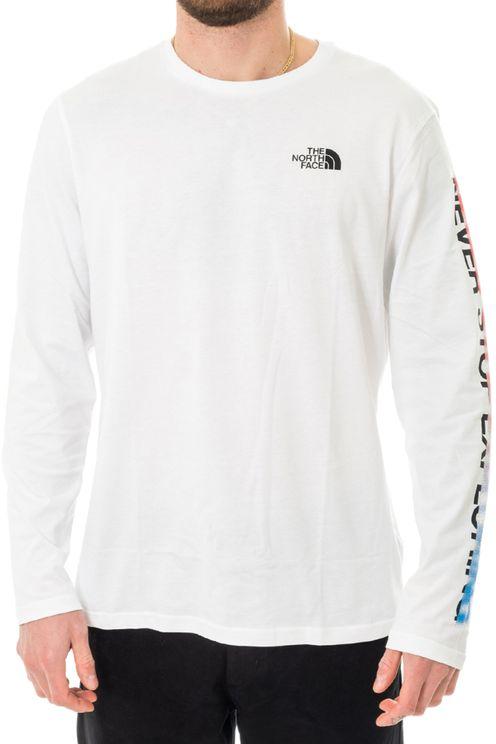 T-shirt Uomo Ls Graphic Flow Nf0a4927la9