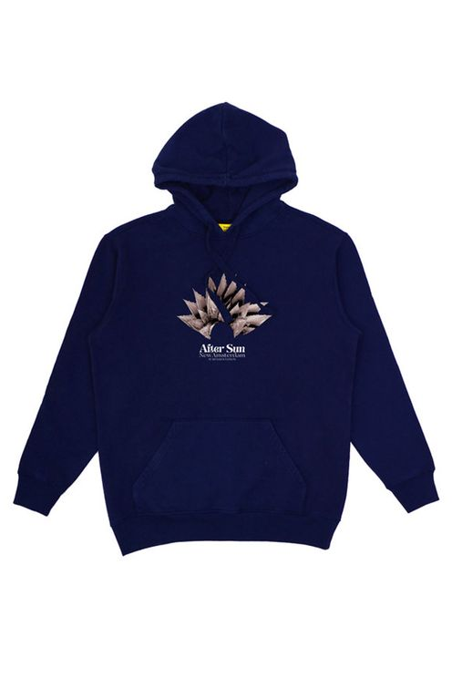 after sun hoodie navy
