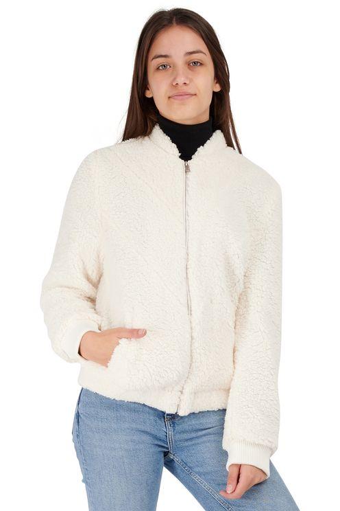 Faux fur teddy vest